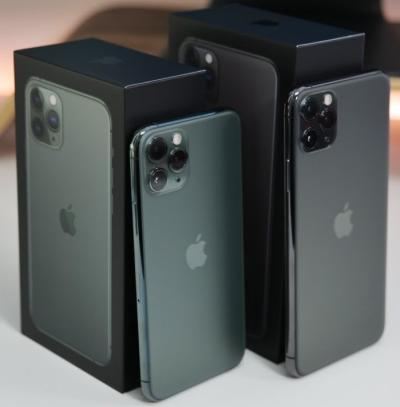 Apple iPhone 11 Pro 64GB $500, iPhone 11 Pro Max 64GB $550,iPhone 11 64GB $450,iPhone XS 64GB $400